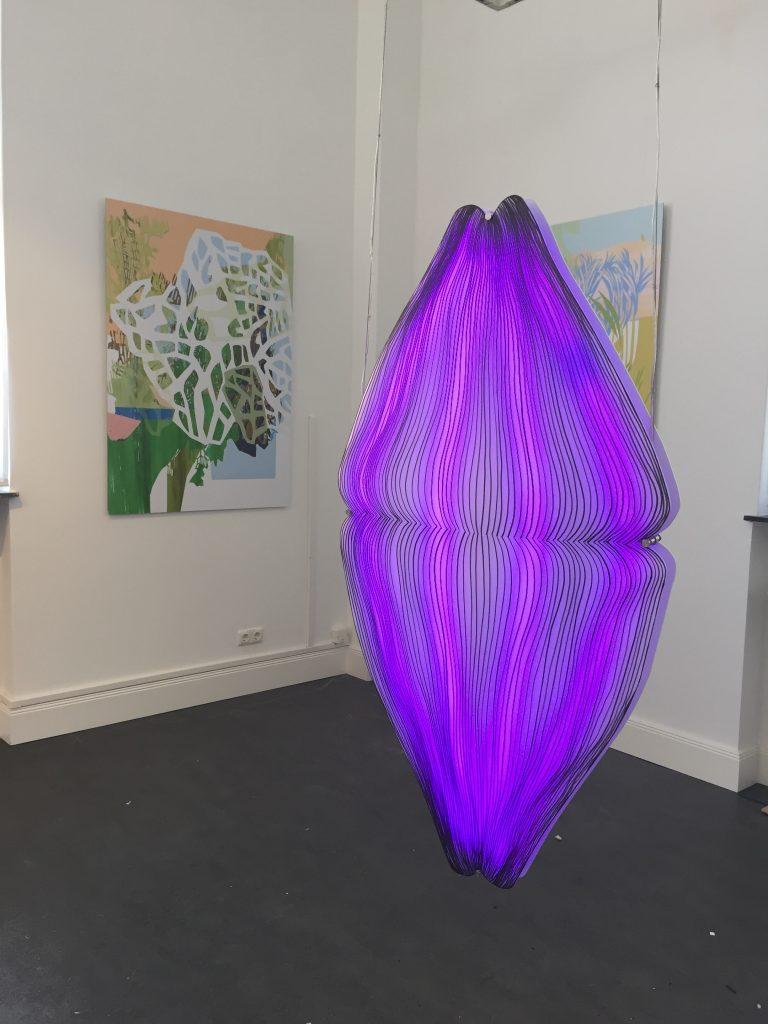 Elvira Bafverfeldt light installation